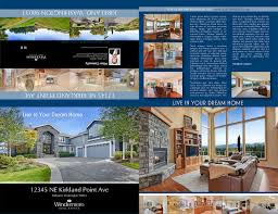 Real Estate Brochure Template by Wrearc Windermere Central