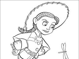 jessie toy story coloring pages toy story 2 clipart 1 10