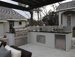 comment construire une cuisine exterieure frisch cuisine exterieur inox et b ton pour la ext rieure exterieure