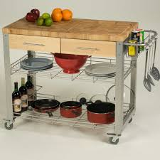Kitchen Island Stainless Movable Kitchen Island Rolling Kitchen Island Bar Cart Wine