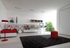 astounding red and black bedroom decoration ideas using red and