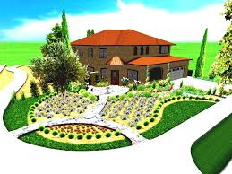 Easy Home Design Online Simple Landscape For House Designs Landscaping Easy Home Design