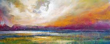 Abstract Landscape Painting by Abstract Landscape Paintings For Sale Semi Abstract Landscape