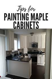 best white paint for maple cabinets tips for painting maple cabinets dengarden