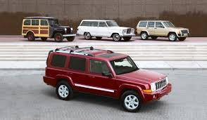 jeep station wagon jeep commander heritage cartype