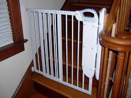Child Gates For Stairs Retractable Baby Gates For Stairs With Railings