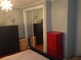 Single Mirror Closet Door Refinishing Gold Mirrored Closet Doors Frugalwoods