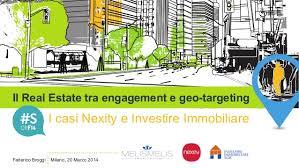 nexity si e social il estate tra engagement e geo targeting i casi nexity e invest