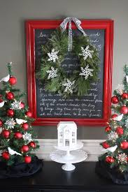 the yellow cape cod holiday home series christmas menu board