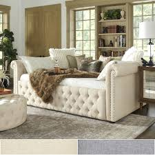 tufted full size daybed upholstered full size daybed with trundle