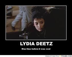 Emo Meme Generator - lydia deetz meme generator posterizer