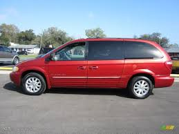 inferno red pearl 2001 chrysler town u0026 country lxi exterior photo