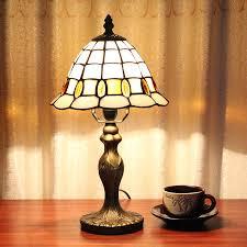 Schlafzimmer Lampe Und Nachttischlampe Gweat 8 Zoll Weinlese Pastoral Buntglas Tiffany Tischlampe