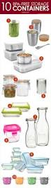 Glass Kitchen Canisters Airtight by Best 25 Glass Storage Containers Ideas On Pinterest Food