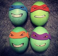 Teenage Mutant Ninja Turtles Easter Egg Decorating Kit by Fun With Easter Eggs The Lone In A Crowd