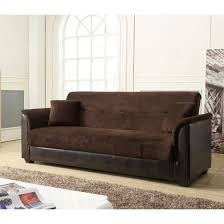 Futon Sofa Bed With Storage Nathaniel Home Chocolate Melanie Champion Futon Sofa Bed With Storage