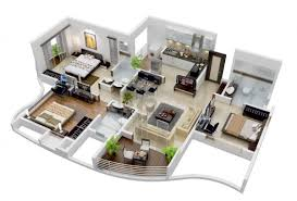 modern home floorplans collection home 3d plans photos the architectural digest