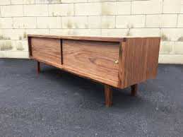 Credenza Tv Console Mid Century Modern Tv Console Credenza Tv Stand Mcm Modern