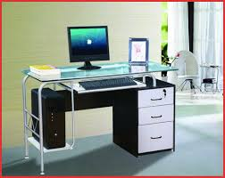 modern glass desk with drawers desk marvelous computer desk at staples 2017 collection computer