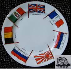 Ww2 Allied Flags Commemorative China Etc