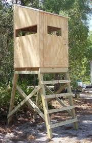 Deer Ground Blind Plans Elevated Platforms For The Pop Up Blinds 6x6 Base 4 U0027 Hi To