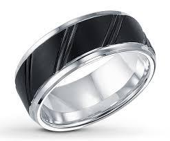 black wedding rings for him titanium black wedding rings for with silver ipunya