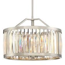 Broadway Linear Crystal Chandelier Platinum Ceiling Lights For Less Overstock Com