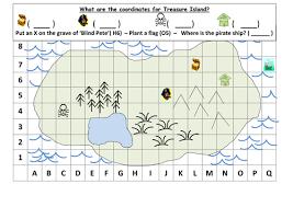 co ordinates treasure map ks1 by mrdhenshaw teaching resources
