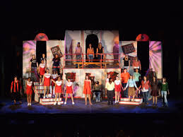 etc lights disney s high school musical on stage