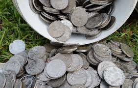 huge stash of coins found buried in backyard youtube