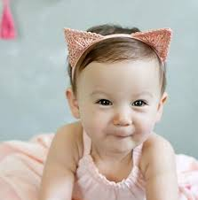 band baby baby hair accessories headbands cat ears headband delicate lace