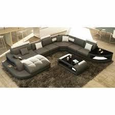 dimension d un canapé canapé d angle design panoramique gris et blanc living rooms sofa