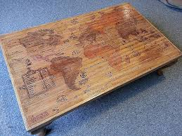 Map Coffee Table World Map Coffee Table Abyss Table Duffy