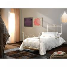 metal wrought iron bed frame in white grey brown and antique finishe