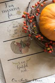 thanksgiving paper chain printable on sutton place