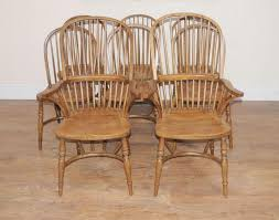 Farm House Dining Chairs 8 Oak Kitchen Dining Chairs Farmhouse Chair Ebay