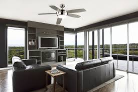 Ceiling Fans For Living Rooms Modern Ceiling Fans In Contemporary Style Amaza Design