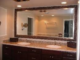 bathroom mirror designs framed bathroom mirrors ideas home interior design installhome com