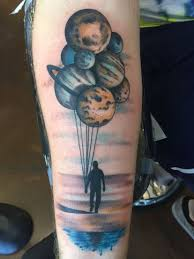 planet balloons by chris melzo at black cat tattoo in reno nv