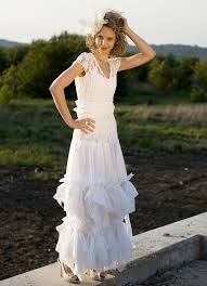 white fairy dress upcycled wedding dress grown tattered romantic