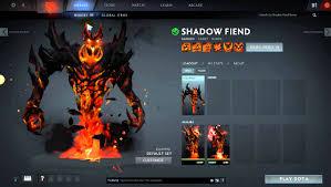 Eater Heat Map Mod Dota Shadow Fiend Demon Eater Arcana Youtube