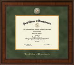 college diploma frames york college of pennsylvania diploma frames church hill classics