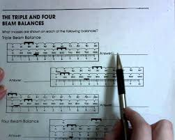 the triple and four beam balances youtube