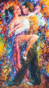original oil painting vibrant vibrant