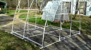Greenhouse Floor Plans by Improved Bigger Better Pvc Pipe Greenhouse Soil Hydroponics Plain