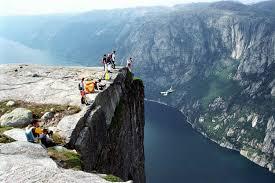 norway video norway base jumpers somersault off kjerag mountain the local
