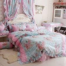 Ruffle Bedding Set Pink Bedroom Sets Foter