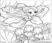 barbie magic pegasus 08 coloring pages printable