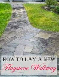 How To Lay A Paver 25 Beautiful How To Lay Flagstone Ideas On Pinterest How To Lay