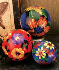 decorative floral balls favecrafts